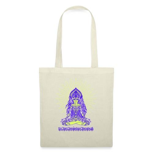 Yogafashion Hippie Ganesha dein Glücksgott - Stoffbeutel