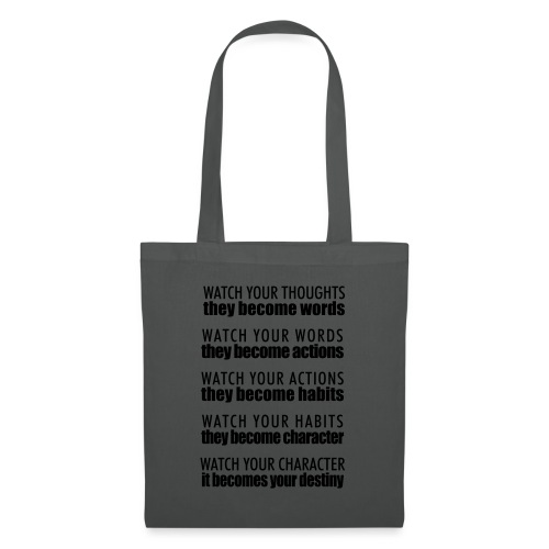 watch your thoughts - Tote Bag