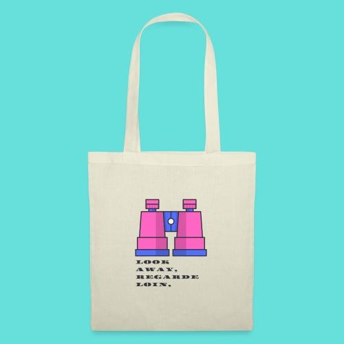 look away regarde loin - Tote Bag
