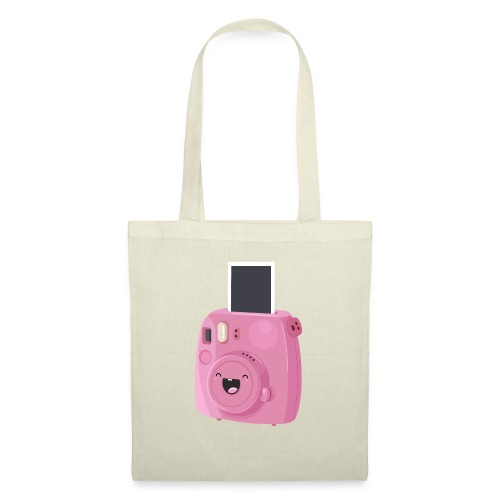 Appareil photo instantané rose - Tote Bag