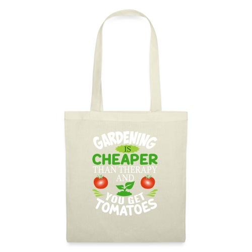 Garten Gartenarbeit Therapie Tomaten Hobbygärtner - Stoffbeutel