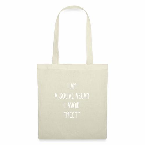 A Social Vegan - Tote Bag