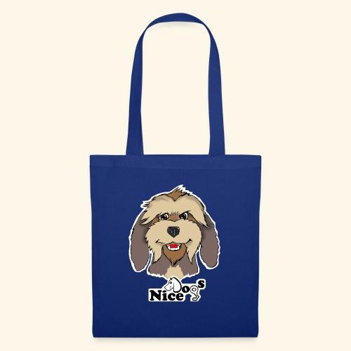 Nice Dogs Pastore Catalano - Borsa di stoffa