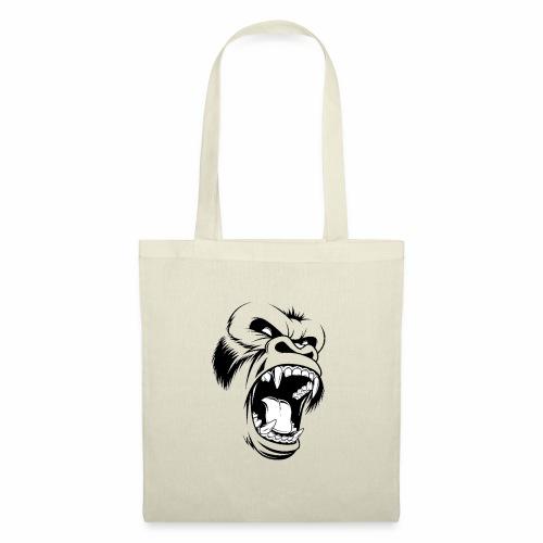 logo tête de gorille - Tote Bag