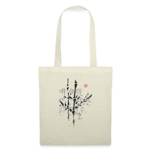 Haiku bambú - Bolsa de tela