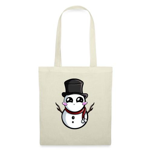 Kawaii Snowman ! - Sac en tissu