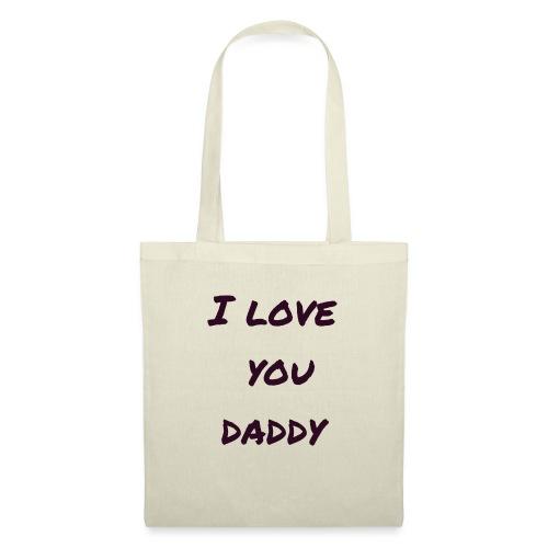 Ich liebe dich Papa - Vatertagsgeschenktipp - Stoffbeutel