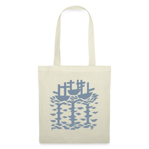 3shipsLogo SallyRoydhouse - Tote Bag