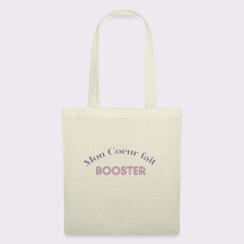 moncoeurfaitbooster - Tote Bag