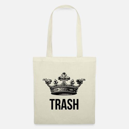 Trash king - Borsa di stoffa