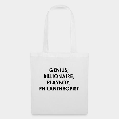 Genius Billionaire Black - Tote Bag