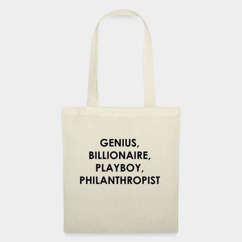 Genius Billionaire Black - Tote Bag