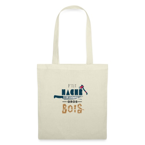pti hache y coupe gros bois 974 - Tote Bag