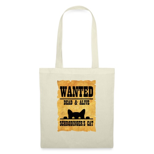 Gato de Schrodinger - Bolsa de tela