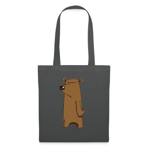 Divertente fumetto scontroso orso odio lunedì - Borsa di stoffa