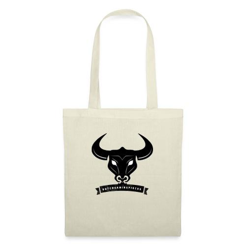 DGP Logo T-shirt Wit Klein - Tas van stof