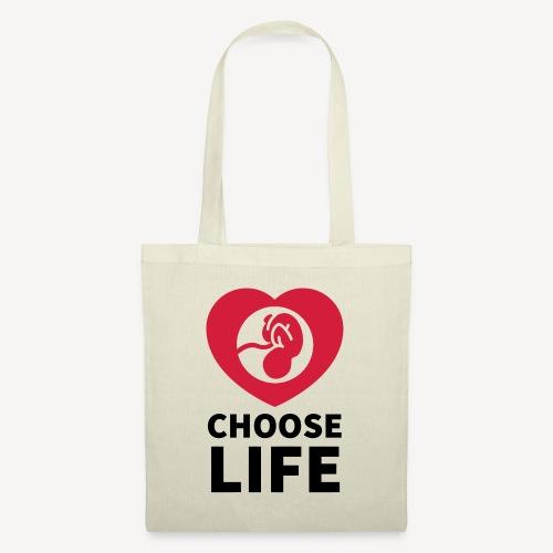 TOTE BAG - CHOOSE LIFE - Tote Bag