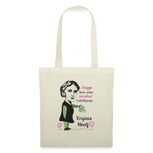 Virginia Woolf citazione - Borsa di stoffa