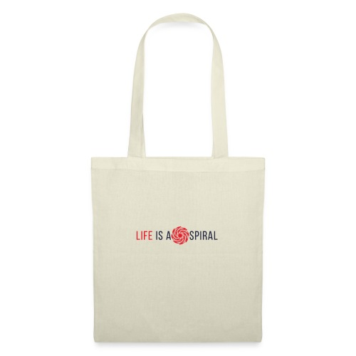 LIFE IS A SPIRAL - Bolsa de tela