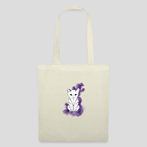 Origami cat Colo - Tote Bag