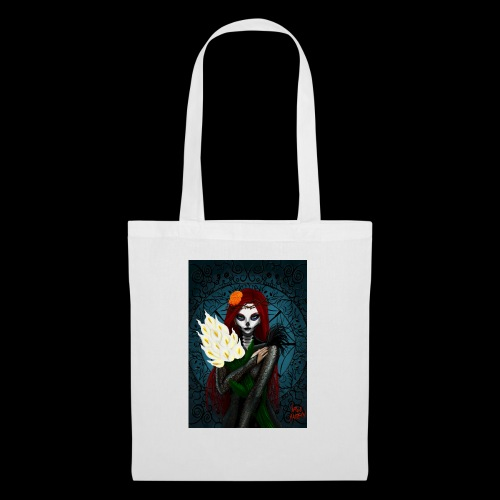 Death and lillies - Tote Bag