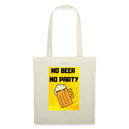 No beer no party - Borsa di stoffa