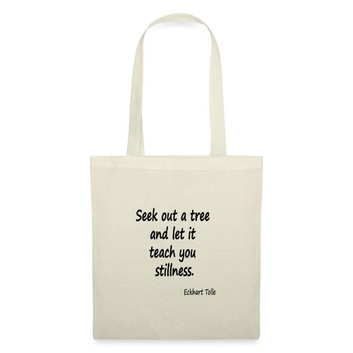 Tree for Stillness - Tote Bag