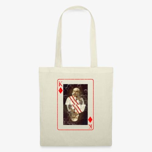 Kaiser Franz von Österreich spielkarte - Stoffbeutel