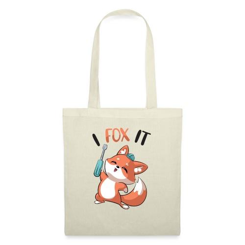 Fox it - Stoffbeutel
