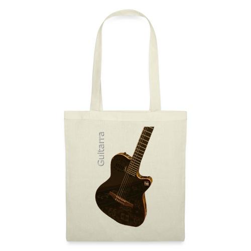 Guitarra inclinada - Bolsa de tela
