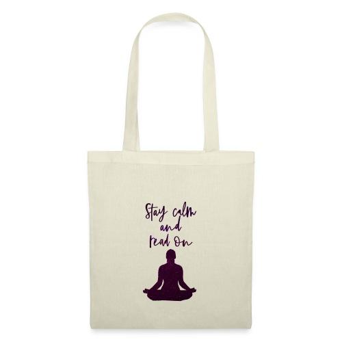 Meditation & Lesen - Stoffbeutel
