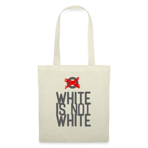 white not - Torba materiałowa
