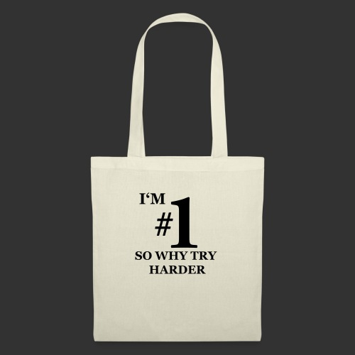 T-shirt, I'm #1 - Tygväska