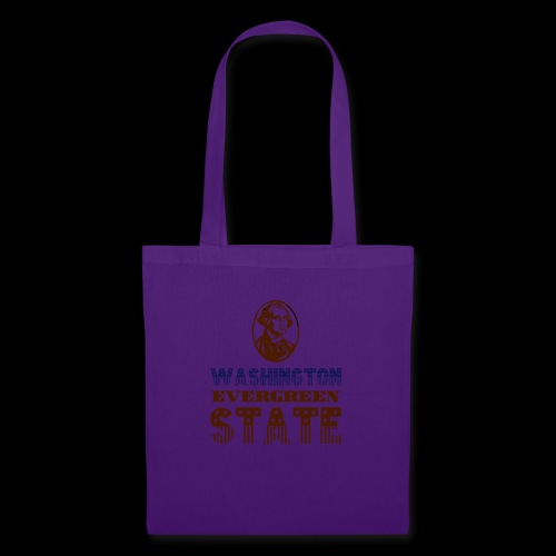 WASHINGTON EVERGREEN STATE - Tote Bag
