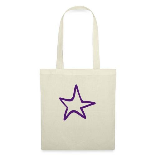 Star Outline Pixellamb - Stoffbeutel