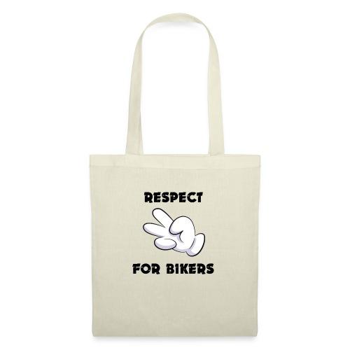 Respect for Bikers - Borsa di stoffa