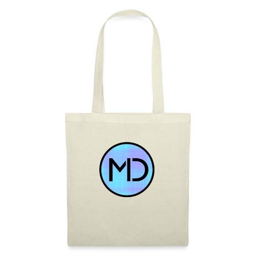 MD Blue Fibre Trans - Tote Bag