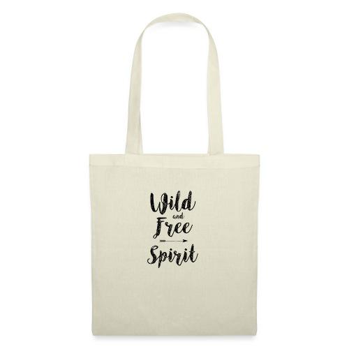Wild-and-Free-Spirit - Tote Bag