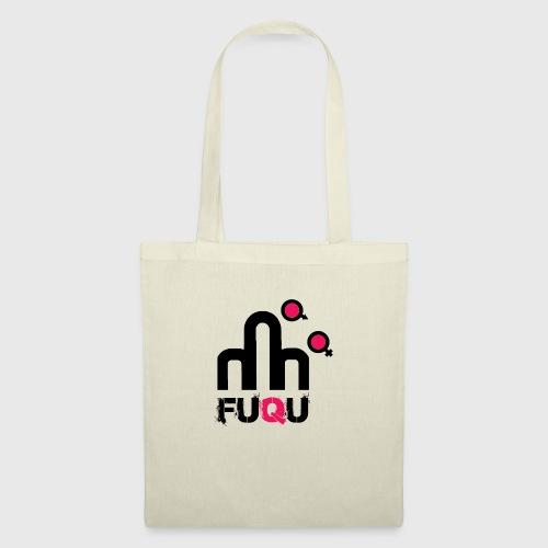 T-shirt FUQU logo colore nero - Borsa di stoffa