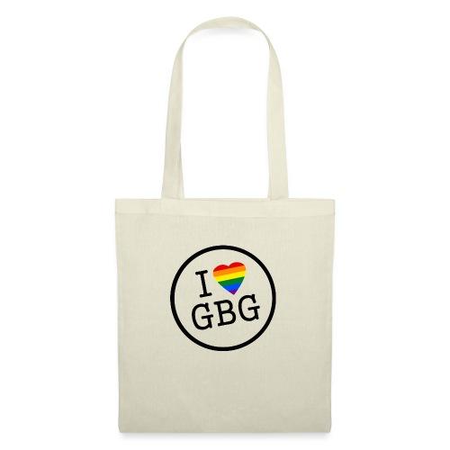 I Love Gbg - tygkasse - Tygväska