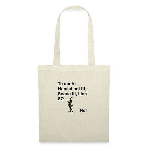No! - Tote Bag