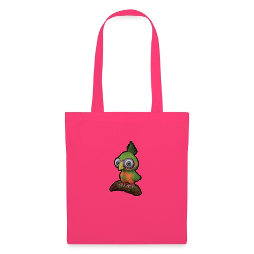 A bird sitting on a branch - Tote Bag