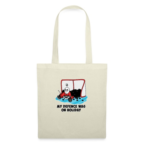 My Defence Was On Holiday - Tote Bag
