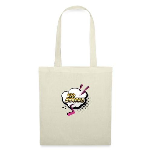 Kid Breaks Flash Art Logo - Tote Bag