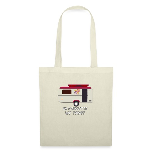 In Paulette We Trust Color - Tote Bag