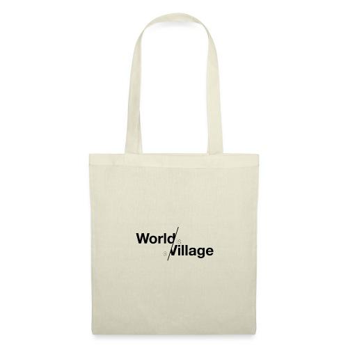 world is a village - Sac en tissu