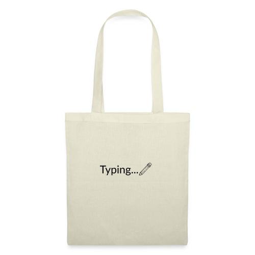 Typing - Bolsa de tela