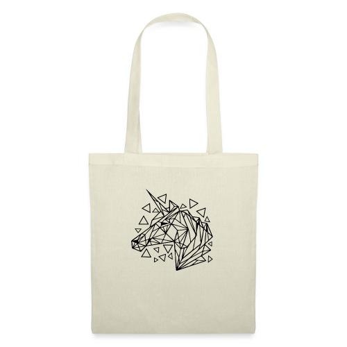 unicornio minimalista - Bolsa de tela