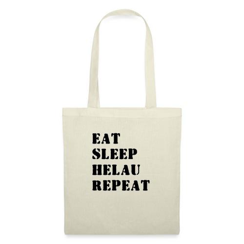 Eat Sleep Repeat - Helau VECTOR - Stoffbeutel