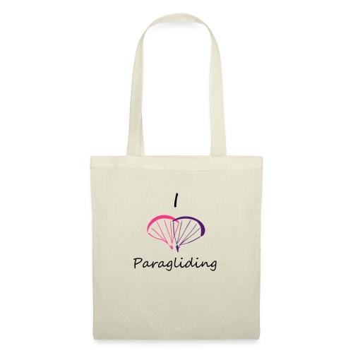 I Love Paragliding V2 - Tote Bag
